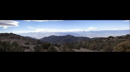 Near the Bristelcone Pine Forest