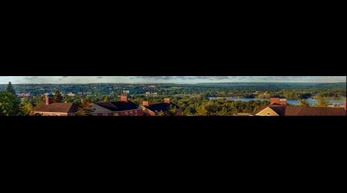 Fredericton Panorama By Matthew Gorveatte