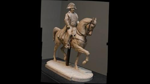 Napoleon: by Birth a Corsican, by Fame a Frenchman - The General Bonaparte on Horseback by Antoine-Louis Barye - Museum Fine Arts Houston