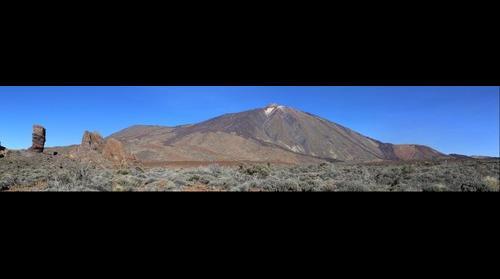 Mount Teide from Los Roques de Garcia