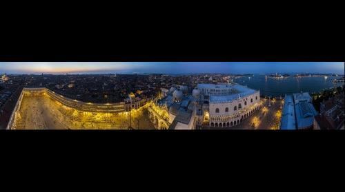 Panorama Venecia Desde Campanile