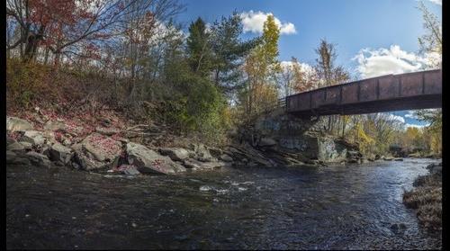 Nashwaak River By Matthew Gorveatte