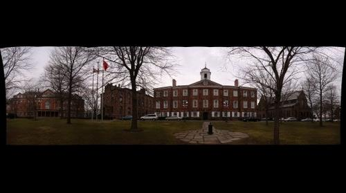 whereRU: Old Queens Campus Quad