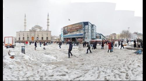 Yeni Cami ve Mısır Çarşısı - Eminönü - İstanbul