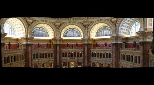 Library of Congress - Thomas Jefferson Building - Pinnacle of Beaux Arts Architecture