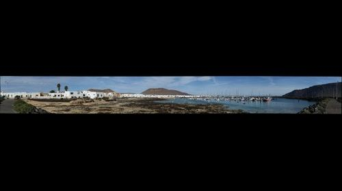 Harbour of La Graciosa - Lanzarote
