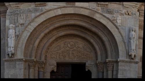 Puerta del Cordero, San Isidoro, Leon 300mm