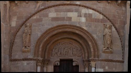 Puerta del Perdon, San Isidoro, Leon 300mm