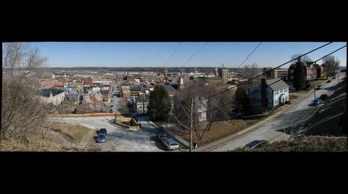 Dubuque, IA - From the Top of 11th Street