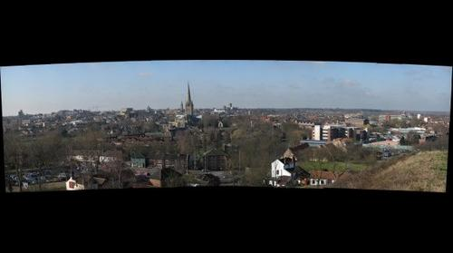 Norwich viewed from Mousehold heath