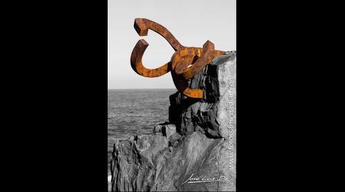 110120-4 Peine Del Viento - escultura C