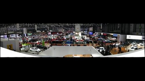 Geneva Motor Show Main Floor
