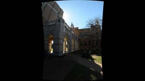 Difference Between Night and Day - Lovett and Herzstein Halls - Rice University