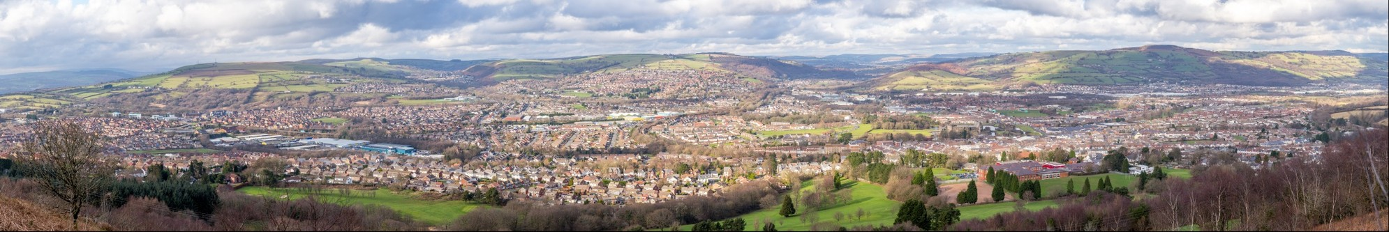 View from Caerphilly Mountain_1