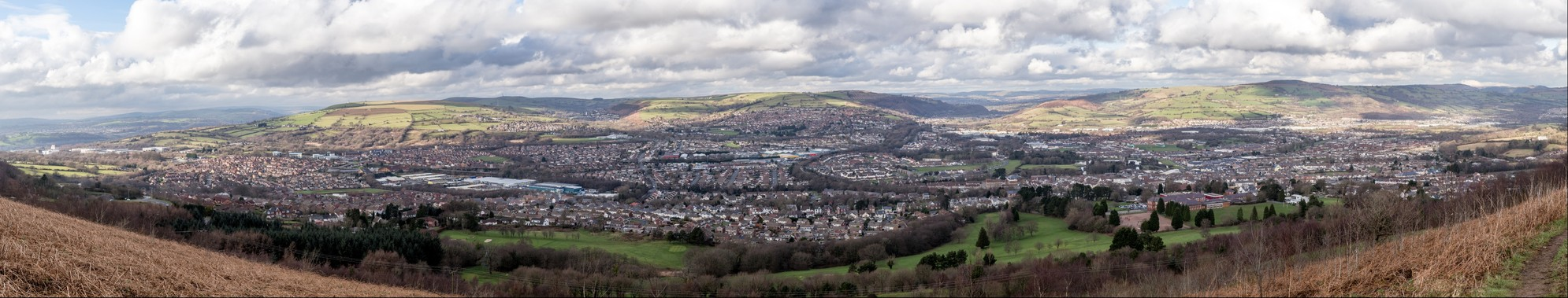 View from Caerphilly Mountain_2