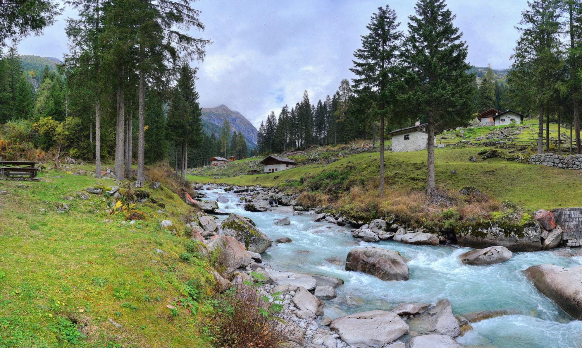 Dreamscape: Val Genova, Trentino, Italy