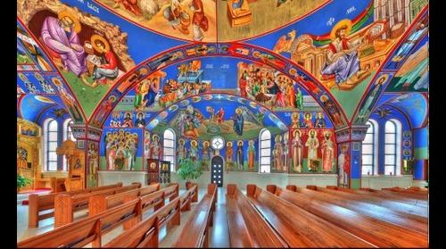 St Archangel Michael Serbian Orthodox | RIght perspective - Lansing, IL