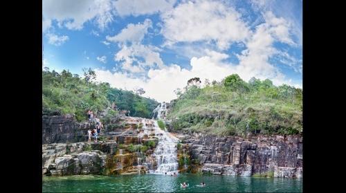 Cachoeira da Lagoa Azul - Capitólio - MG