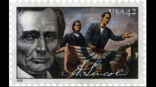 Lincoln Commerative Stamp