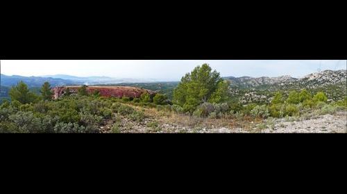 La Moure et Marseille vus de l'Etoile