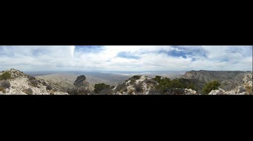 Guadalupe Peak - 360°