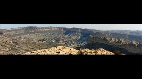 Panoramica desde el pico de Les moreres.