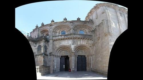 Santiago de Compostela, Platerias facade