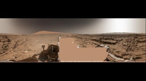 MSL Curiosity Sol-1302 Mastcam 360 panorama