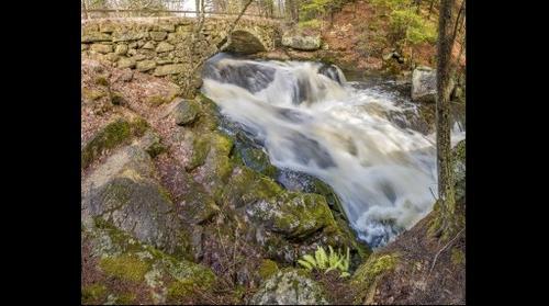 Gleason Falls and Stone Arch Bridge