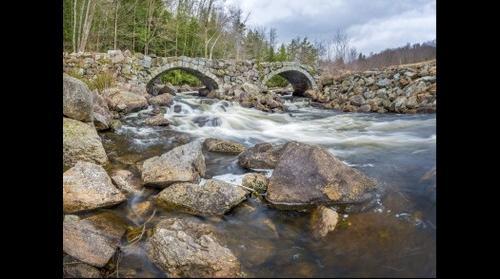 Stoddard Double Stone Arch Bridge