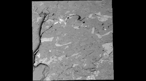 Sodium-rich Plagioclase Feldspar at 1915x