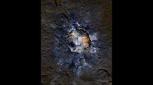 Ceres' Haulani Crater