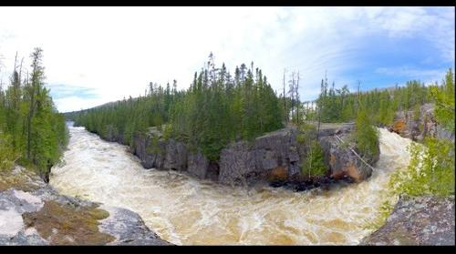 Silver Falls during spring runoff