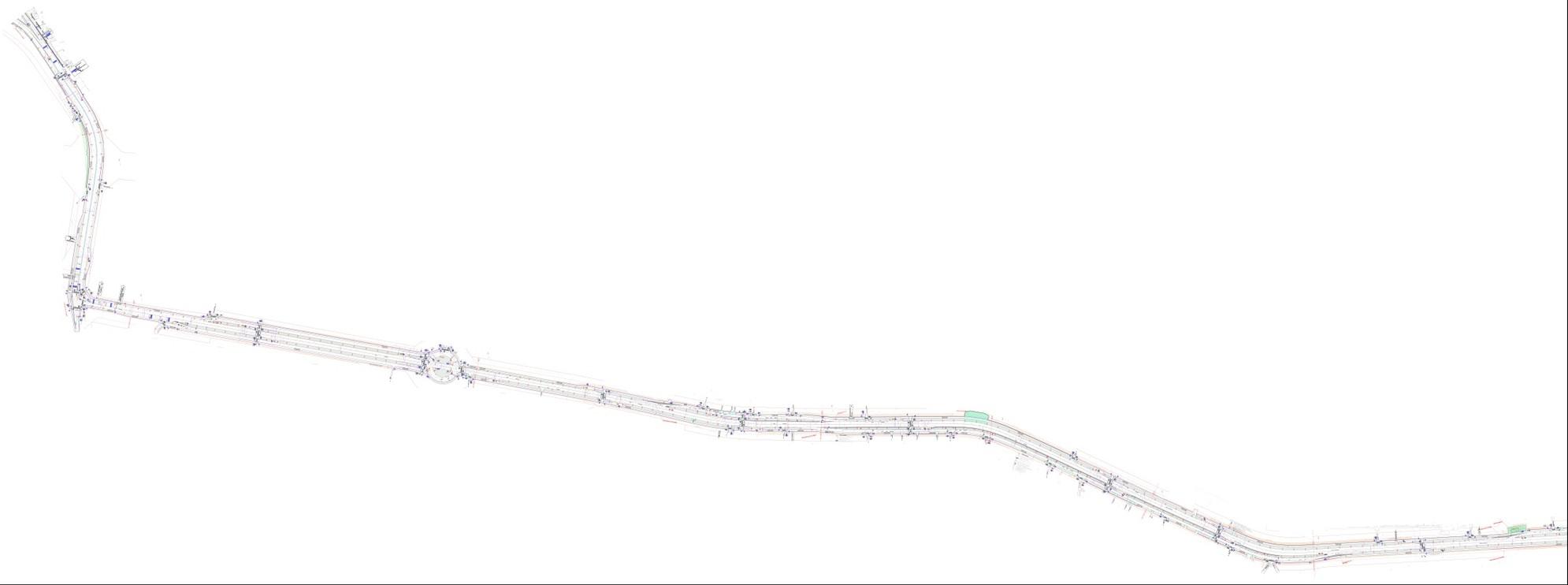 Реконструкция автодороги Боровское шоссе - Киевское шоссе - д. Ботаково (участок от Киевского шоссе до д. Ботаково часть 1)