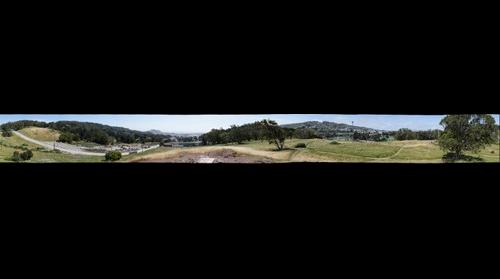 John McLaren Park - From Lover's Rock, Across from Golf Course Entrance - 360 degrees - 100mm
