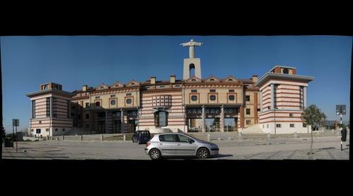 Cacilhas Portugal Christ Looking at Lisbon-2