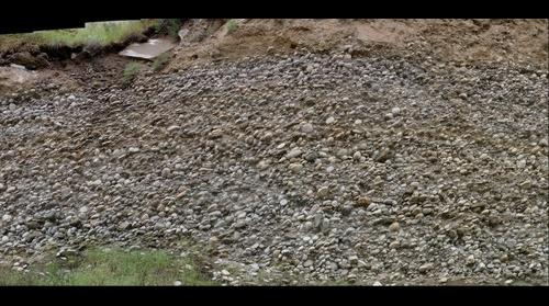 Imbricated gravels of the Salmon River near Riggins, Idaho