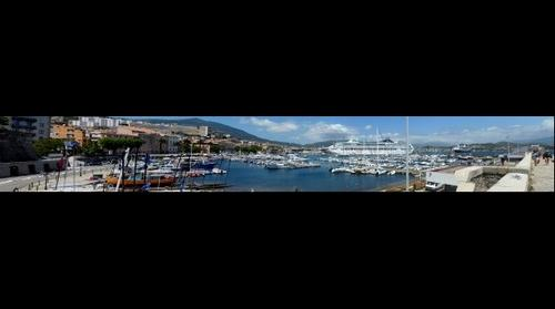 Harbor of Ajaccio, Corsica