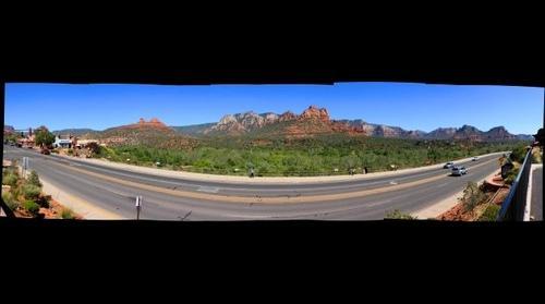 Sedona, AZ - View from Piñon Pointe Shops