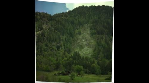Ingelsberg Landslide - Bad Hofgastein, Austria