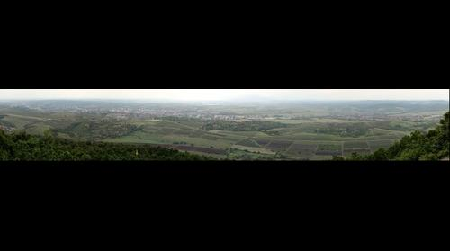 Eger látképe az Eged-hegyről