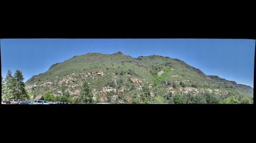Oak Creek Canyon, seen from Slide Rock SP (1 of 4)