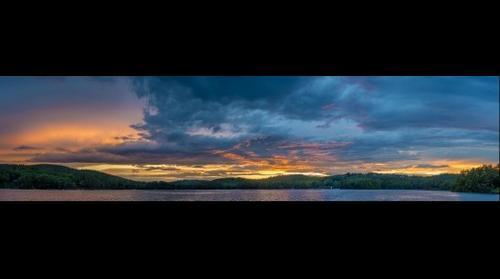 Sunset over Sunapee
