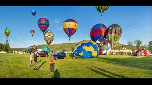 Photographing the Balloons