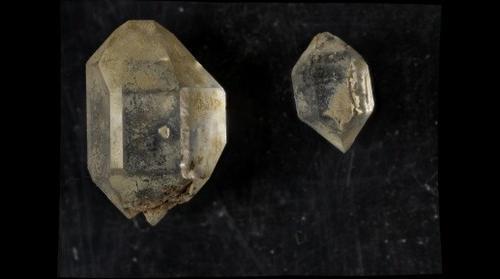 Double-Terminated Quartz Crystals