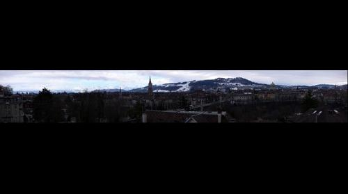 Bern view from Kursaal