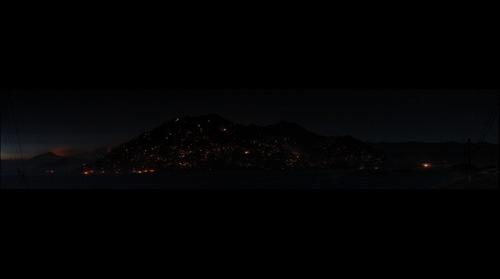 Cook Peak Resembling a Pile of Coals