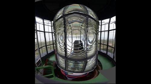 Amrum Leuchtturm von innen