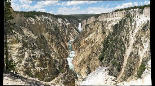 Yellowstone Canyon, Lower Falls