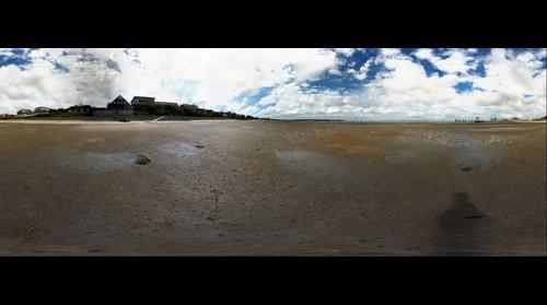 Wittdün - Island of Amrum - view from tide region